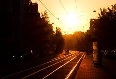 Οδοί πρωινού Στοκ φωτογραφίες με δικαίωμα ελεύθερης χρήσης