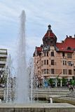 Οδοί σε Szeged, Ουγγαρία στοκ εικόνες με δικαίωμα ελεύθερης χρήσης