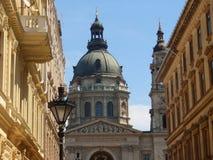 οδοί της Βουδαπέστης Στοκ φωτογραφία με δικαίωμα ελεύθερης χρήσης