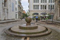 Οδοί της παλαιάς Αβάνας Στοκ εικόνες με δικαίωμα ελεύθερης χρήσης