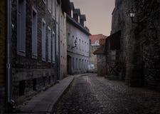 Οδοί της παλαιάς πόλης του Ταλίν Εσθονία στοκ εικόνα με δικαίωμα ελεύθερης χρήσης