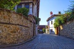 Οδοί της παλαιάς πόλης Kaleici antalya Τουρκία Στοκ εικόνα με δικαίωμα ελεύθερης χρήσης