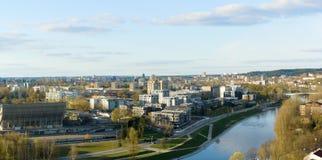 Οδοί της πόλης Vilnius στοκ εικόνες