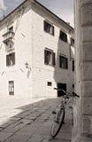 οδοί του Μαυροβουνίο&upsilo Στοκ φωτογραφία με δικαίωμα ελεύθερης χρήσης