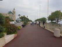 Οδοί του Μονακό Στοκ Εικόνες