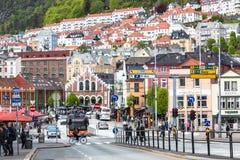 Οδοί του Μπέργκεν Στοκ εικόνα με δικαίωμα ελεύθερης χρήσης