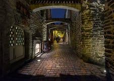Οδοί του Ταλίν Εσθονία στοκ εικόνα