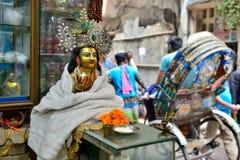 Οδοί χρώματος Dhaka στοκ εικόνα