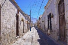 Οδοί Arequipa στο Περού Στοκ φωτογραφία με δικαίωμα ελεύθερης χρήσης