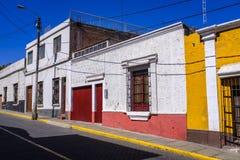 Οδοί Arequipa στο Περού Στοκ Φωτογραφίες