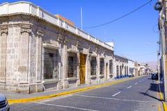 Οδοί Arequipa στο Περού Στοκ Εικόνες