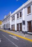 Οδοί Arequipa στο Περού Στοκ εικόνες με δικαίωμα ελεύθερης χρήσης