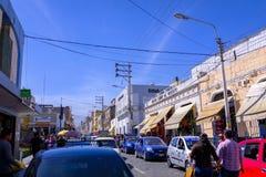 Οδοί Arequipa στο Περού Στοκ φωτογραφίες με δικαίωμα ελεύθερης χρήσης