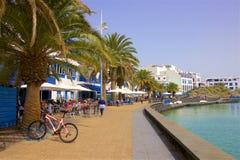 Οδοί Arrecife, Lanzarote Στοκ Φωτογραφίες