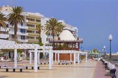 Οδοί Arrecife, Lanzarote Στοκ φωτογραφία με δικαίωμα ελεύθερης χρήσης