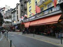 Οδοί Lourdes στη Γαλλία στοκ εικόνα