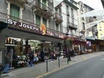 Οδοί Lourdes στη Γαλλία στοκ εικόνα με δικαίωμα ελεύθερης χρήσης