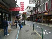 Οδοί Lourdes στη Γαλλία στοκ εικόνες