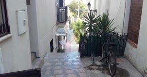Οδοί Sitges ` στοκ φωτογραφία με δικαίωμα ελεύθερης χρήσης