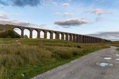 Οδογέφυρα Ribblehead, βόρειο Γιορκσάιρ, UK στοκ εικόνες