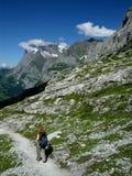 οδοιπορία της Ελβετίας στοκ εικόνες