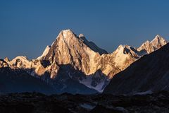 Οδοιπορία του Πακιστάν Karakoram K2 στοκ φωτογραφία με δικαίωμα ελεύθερης χρήσης