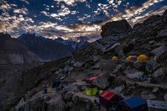 Οδοιπορία του Πακιστάν Karakoram K2 στοκ φωτογραφίες
