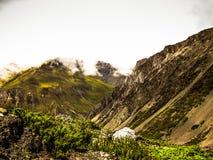 Οδοιπορικό στα βουνά Himalayan του Νεπάλ Στοκ φωτογραφίες με δικαίωμα ελεύθερης χρήσης