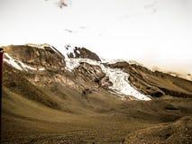 Οδοιπορικό στα βουνά Himalayan του Νεπάλ Στοκ εικόνα με δικαίωμα ελεύθερης χρήσης