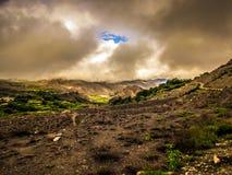 Οδοιπορικό στα βουνά Himalayan του Νεπάλ Στοκ φωτογραφία με δικαίωμα ελεύθερης χρήσης