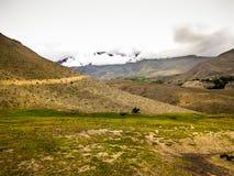 Οδοιπορικό στα βουνά Himalayan του Νεπάλ Στοκ Φωτογραφία