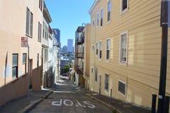 ΟΔΟΙ του Σαν Φρανσίσκο Στοκ φωτογραφίες με δικαίωμα ελεύθερης χρήσης
