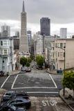 ΟΔΟΙ του Σαν Φρανσίσκο Στοκ Εικόνες