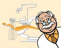 οδοντίατρος φιλικός απεικόνιση αποθεμάτων