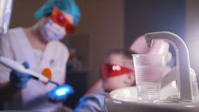Οδοντιατρική, ιατρική   απόθεμα βίντεο
