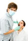 οδοντική εξέταση Στοκ εικόνες με δικαίωμα ελεύθερης χρήσης