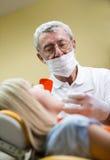 Οδοντική επίσκεψη Στοκ φωτογραφίες με δικαίωμα ελεύθερης χρήσης