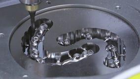 Οδοντική μηχανή άλεσης απόθεμα βίντεο