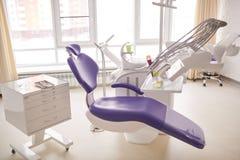 Οδοντικό δωμάτιο που περιμένει τους ασθενείς Στοκ εικόνα με δικαίωμα ελεύθερης χρήσης