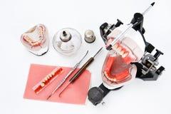 οδοντικό εργαστήριο εξ&omicr Στοκ εικόνα με δικαίωμα ελεύθερης χρήσης