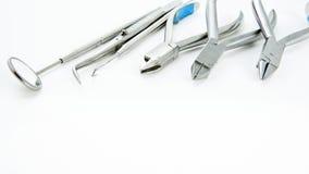 οδοντικό καθορισμένο ερ Στοκ Εικόνες