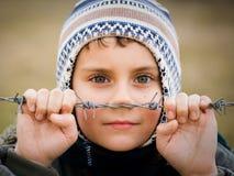 οδοντωτό πίσω καλώδιο αγ&o Στοκ Φωτογραφίες