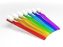 οδοντόβουρτσες ουράνι&o ελεύθερη απεικόνιση δικαιώματος