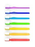 οδοντόβουρτσες ουράνι&o απεικόνιση αποθεμάτων