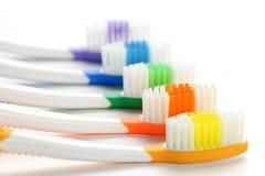 οδοντόβουρτσες Στοκ εικόνα με δικαίωμα ελεύθερης χρήσης