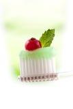 οδοντόπαστα οδοντοβουρτσών Στοκ Φωτογραφίες