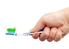 οδοντόπαστα οδοντοβο&upsil Στοκ Φωτογραφίες