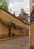 Οδός Αγίου Evroult στη Angers στην κοιλάδα της Loire στη Γαλλία Στοκ Εικόνες