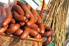 οδός αγοράς τροφίμων παρα&d Στοκ Εικόνα
