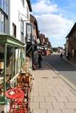 Οδός αγορών σε Arundel Σάσσεξ UK στοκ εικόνες
